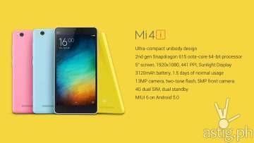 Mi 4i Xiaomi Philippines