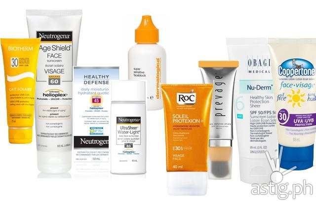 Use sunblock as a base (photo: canadianbeauty.com)