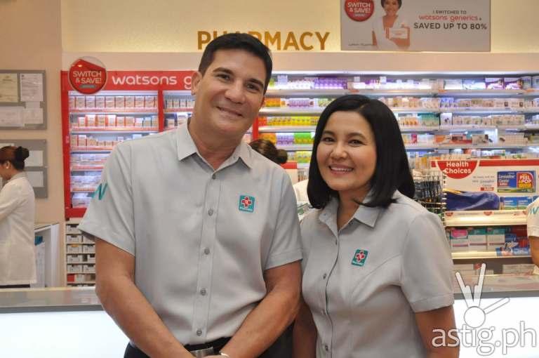 Edu Manzano and Lorna Tolentino