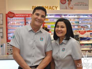 Edu Manzano and Lorna Tolentino