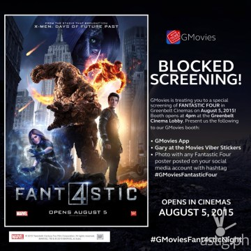 Fantastic 4 movie Globe GMovies