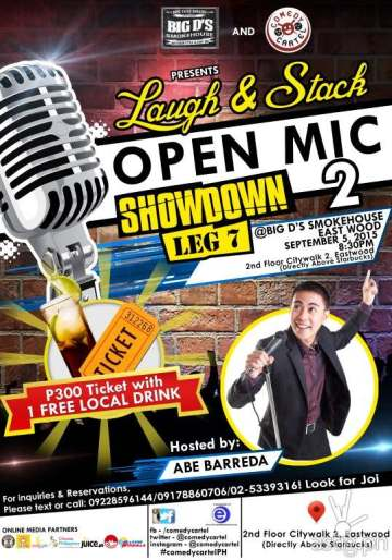 Comedy Cartel Laugh & Stack