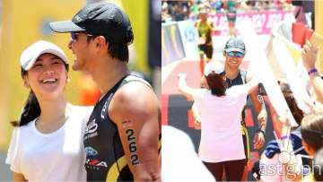 Sarah Geronimo Matteo Guidicelli Cobra Ironman (photo: ashmattofficial on Twitter)