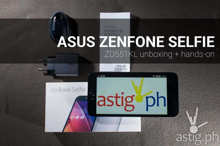 ASUS Zenfone Selfie unboxing + hands on review