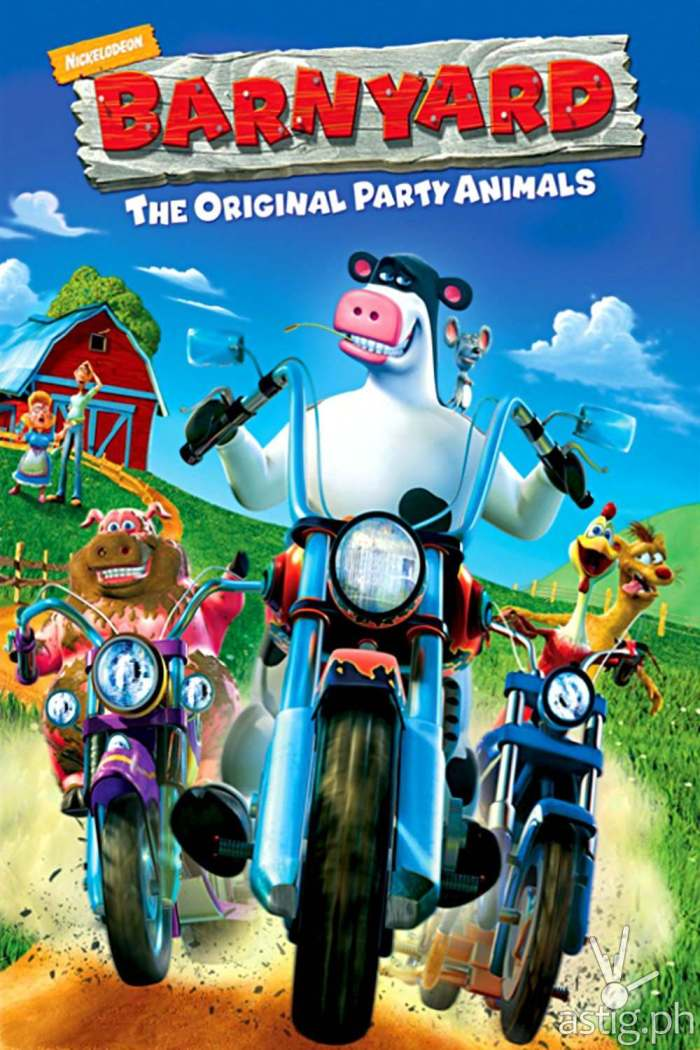 Barnyard movie poster