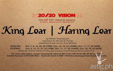 King Lear | Haring Lear by Dulaang UP
