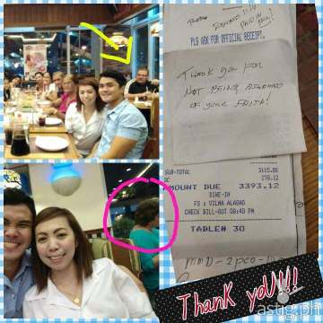 generous foreigner pays for family's meal after overhearing prayer