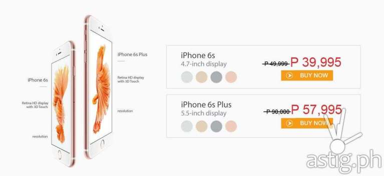iphone 6s price philippines iphone 6s iphone 6s plus now available in the philippines 3818