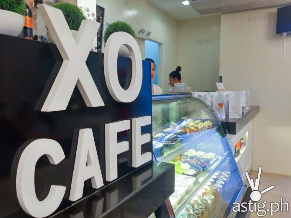 Extraordinail owner Veronica Resurreccion decided to open a cafe XO Cafe just so her staff and patrons can have something to eat