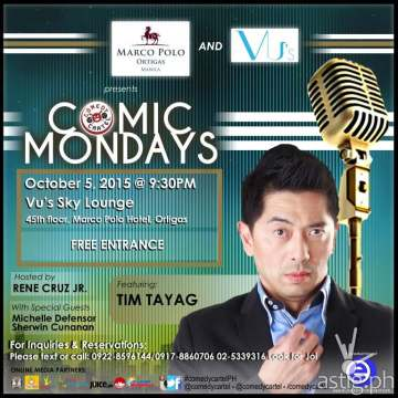 Comic monday Comedy Cartel