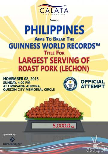 philippines guiness world record lechon