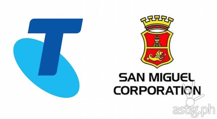 telstra-san miguel partnership