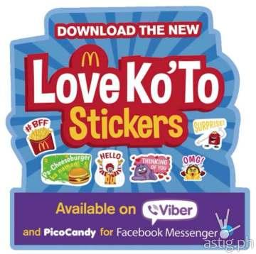 McDo Viber Stickers