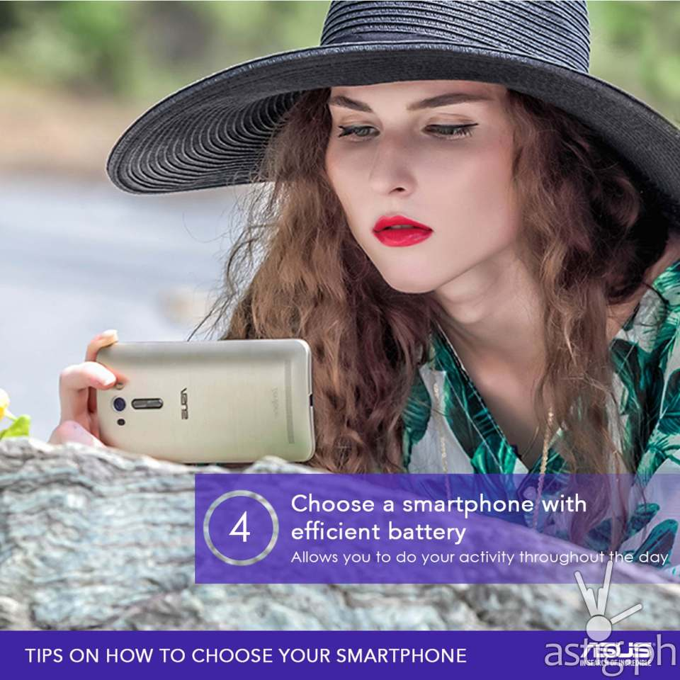 TIP #4: How to choose a smartphone with a long battery life