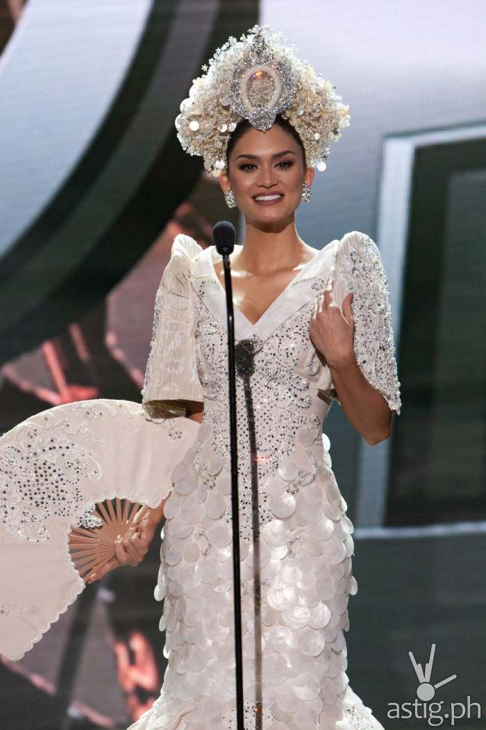 Pia Alonzo Wurtzbach, Miss Philippines 2015 debuts her National Costume on stage at Planet Hollywood Resort & Casino Wednesday, December 16, 2015. The 2015 Miss Universe contestants are touring, filming, rehearsing and preparing to compete for the DIC Crown in Las Vegas. Tune in to the FOX telecast at 7:00 PM ET live/PT tape-delayed on Sunday, Dec. 20, from Planet Hollywood Resort & Casino in Las Vegas to see who will become Miss Universe 2015. HO/The Miss Universe Organization