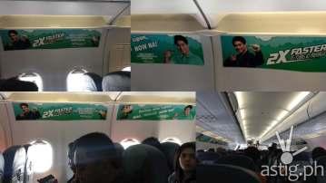Cebu Pacific airplane advertisement