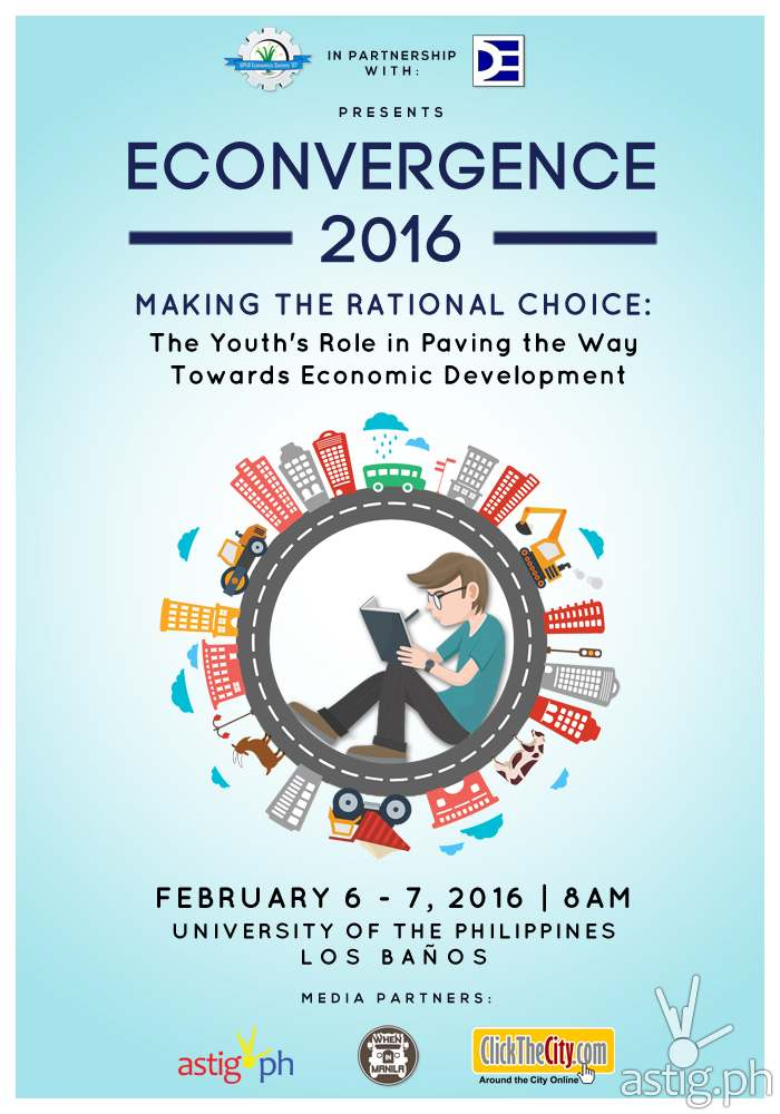 Econvergence 2016 by UPLB poster