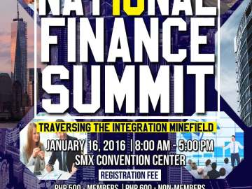 JCFAP National Finance Summit poster