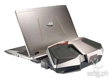 ASUS ROG GX700 water cooled gaming laptop