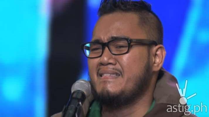 Raynier Dalde in Pilipinas Got Talent