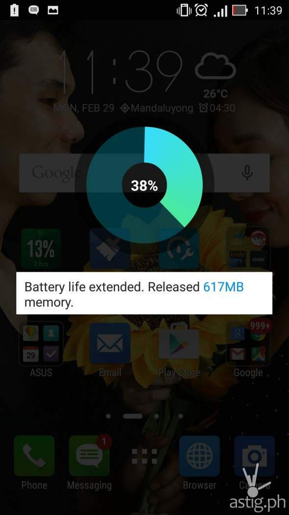 Asus Zenfone Battery Life Extension