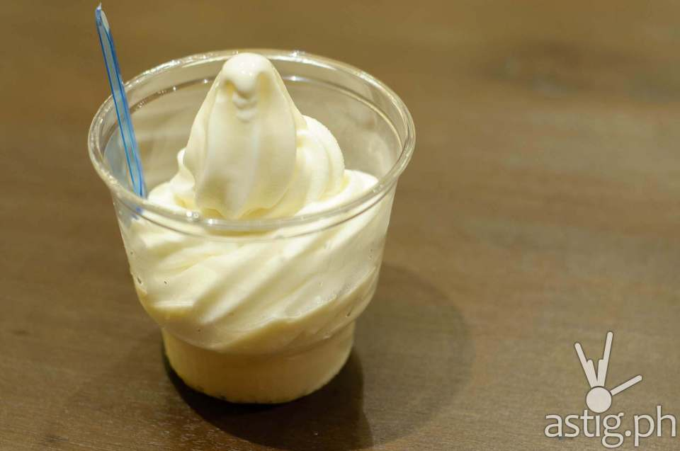 Frozen Yogurt Ice Cream (P120) - Crema at Marriott Grand Ballroom