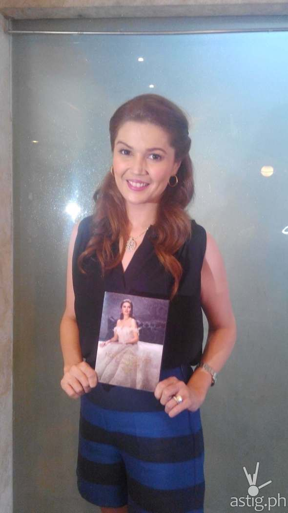 Donna Cruz with her Now and Forever Album