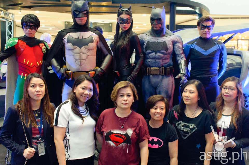 Pacific Licensing Studio PTE LTD with the superheroes