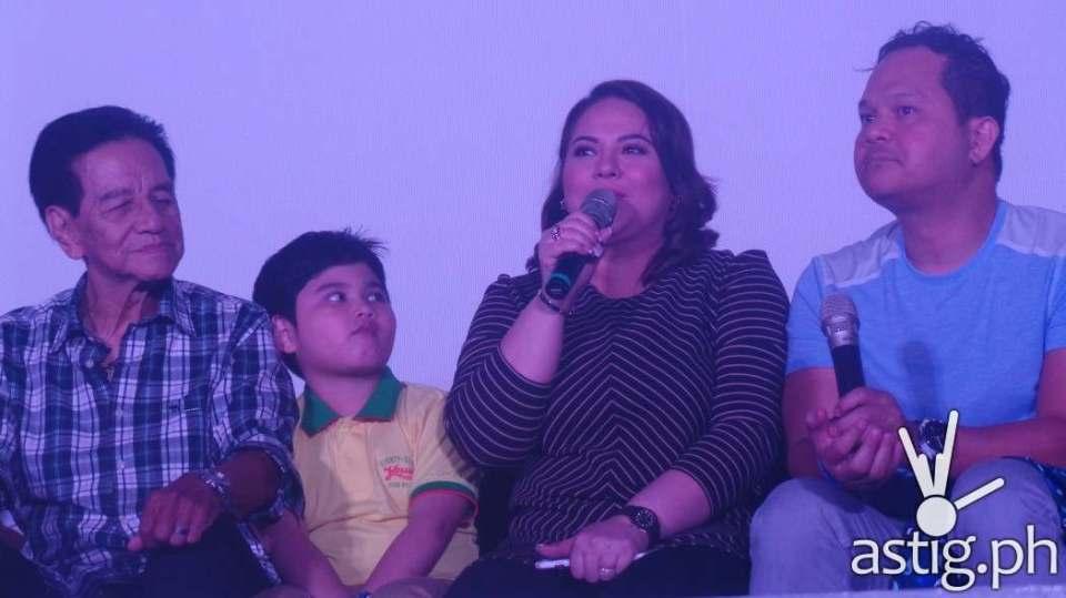 The Family: Mar Lopez, Jesse James Ongteco, Karla Estrada and Bayani Agbayani