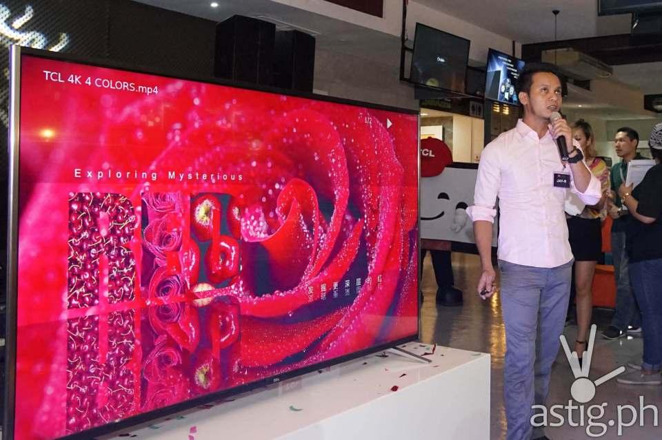 TCL C1 QUHD TV
