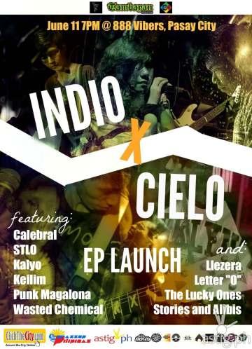 INDIO X CIELO EP launch