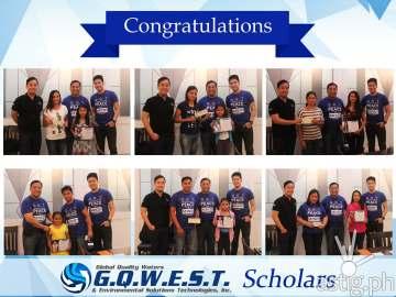 Aquabest Scholarship Ecard