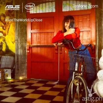 Shaira Luna for ASUS ZenFone Zoom