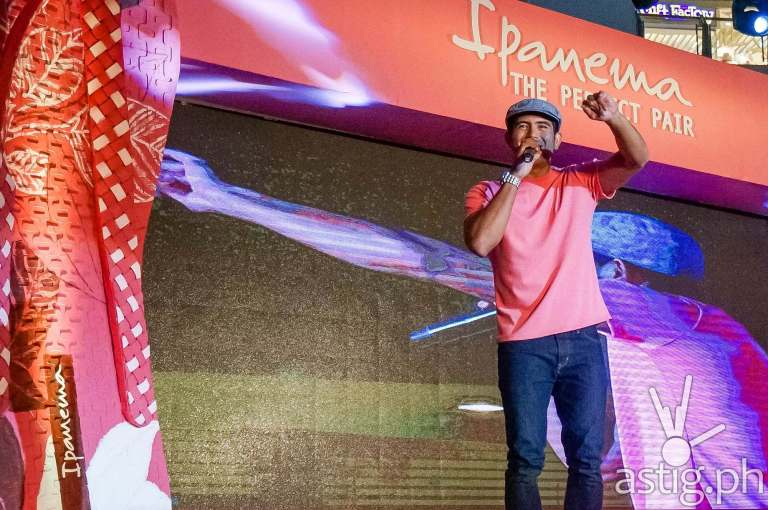 Gerald Anderson at Ipanema Perfect Pair event