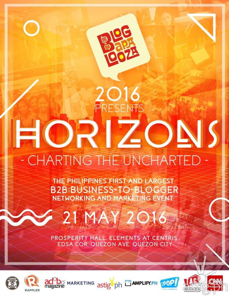 HORIZONS Event Poster