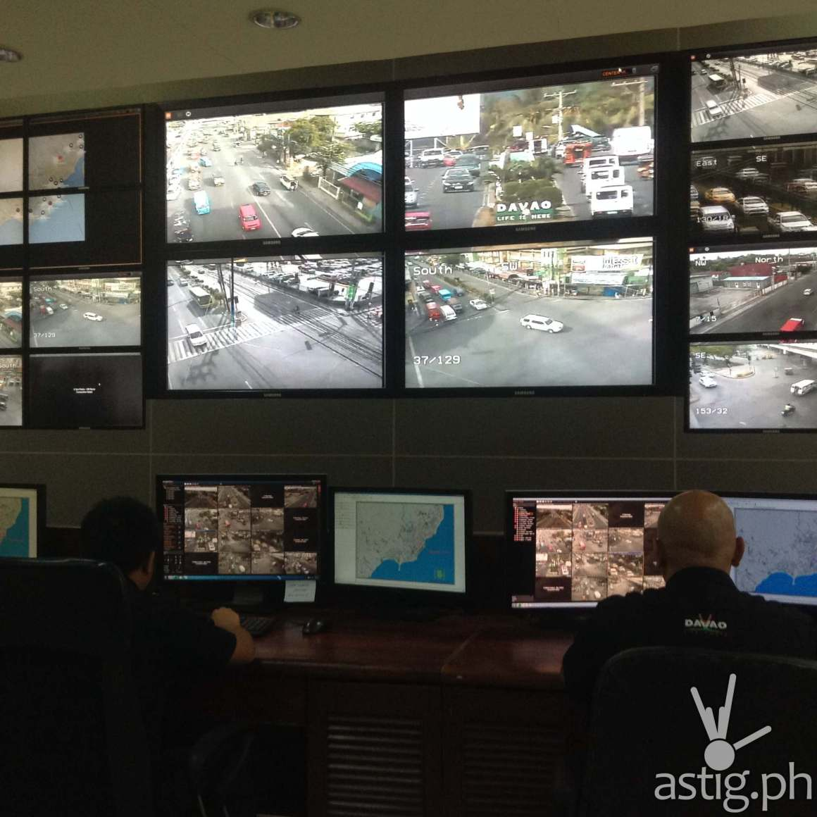 The famed Public Safety and Security Command Center of Davao