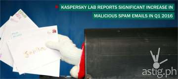 Kaspersky Lab_Spam Q1 2016