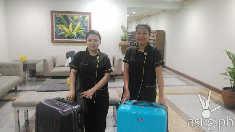 Celebrity Nails Rizal Technicians Rhen and Abbie
