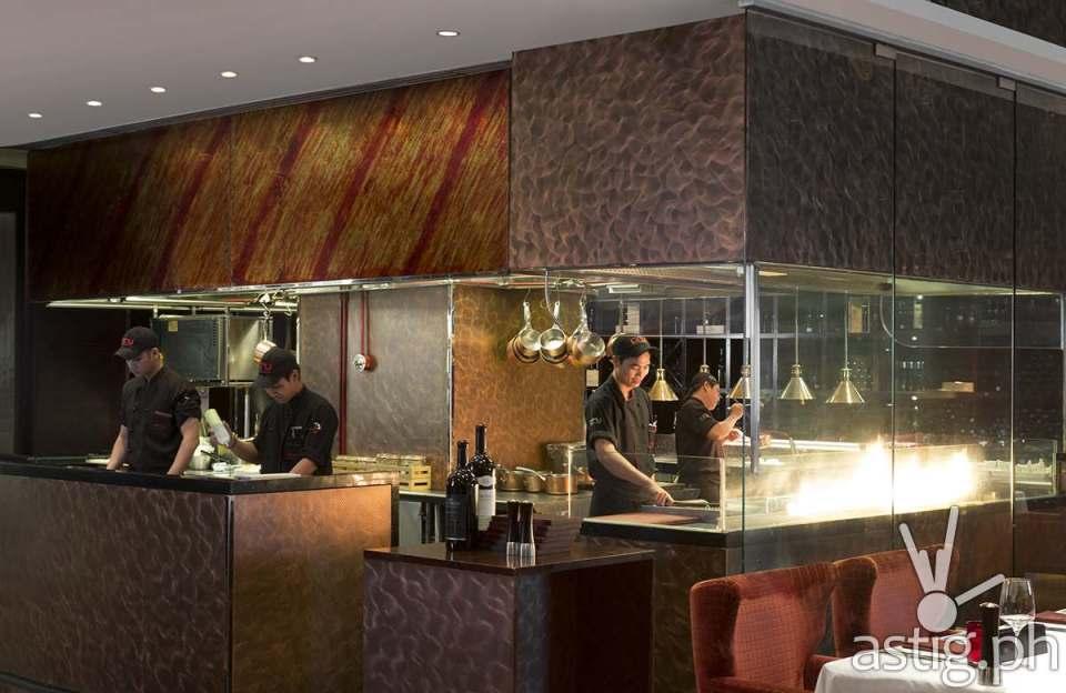 Cru Open Kitchen at Marriott Manila