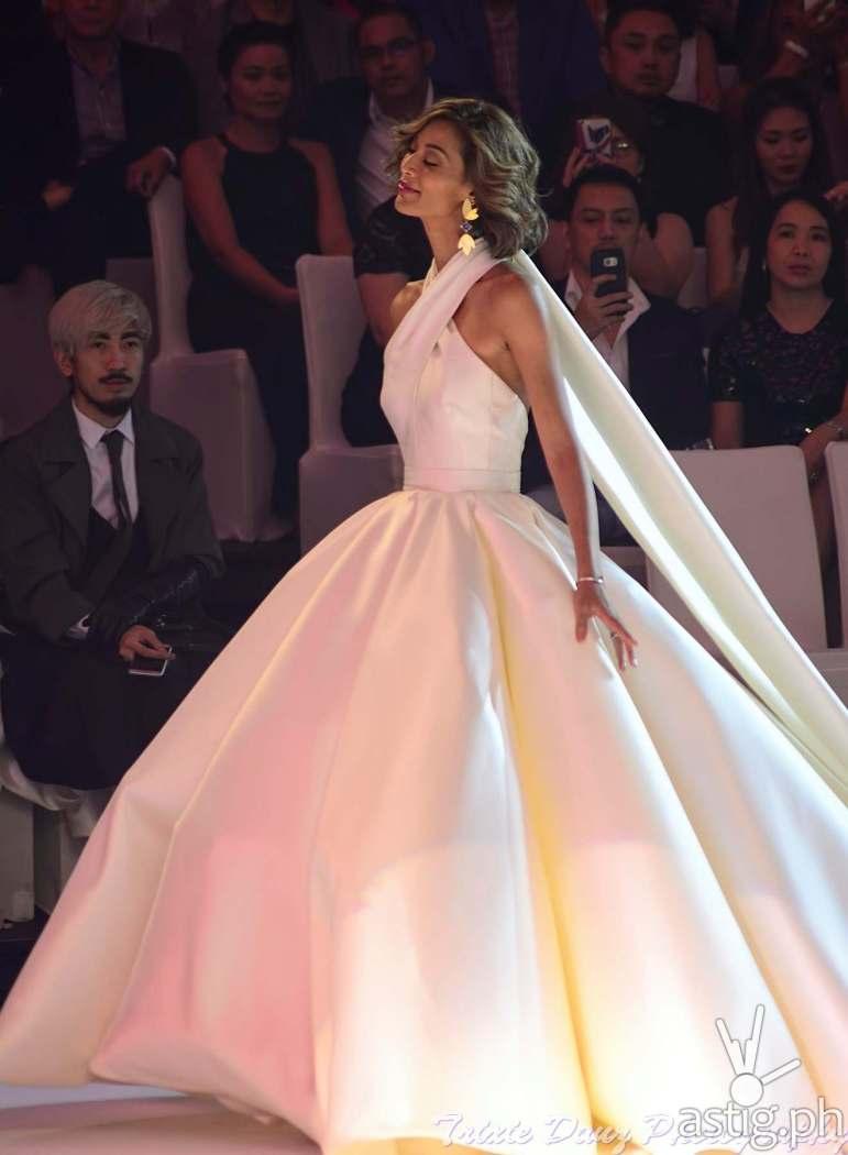 Joey Mead wearing Mark Bumgarner wedding gown at Marriott Hotel Manila - Marry Me At Marriott