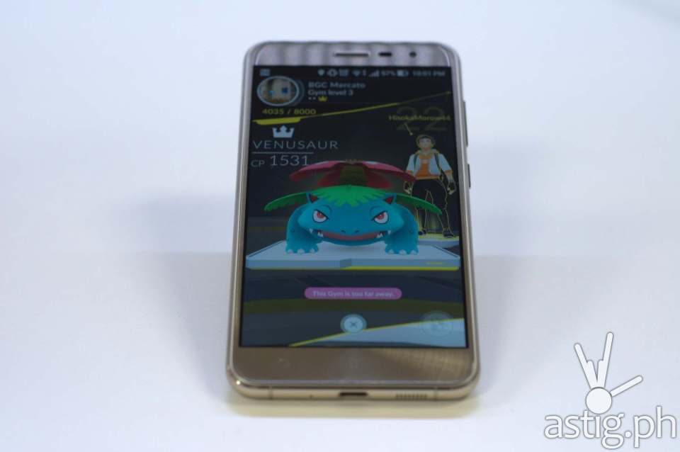 ASUS ZenFone 3 gaming - Pokemon Go