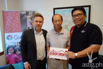 Generosity From Across The Seas to Philam Paaralan