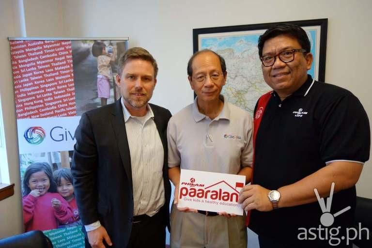 Generosity From Across The Seas to Philam Paaralan