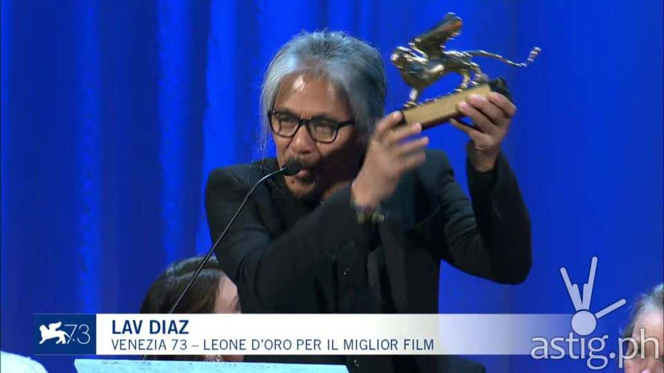 Ang Babaeng Humayo wins Golden Lion at the 73rd Venice Film Festival