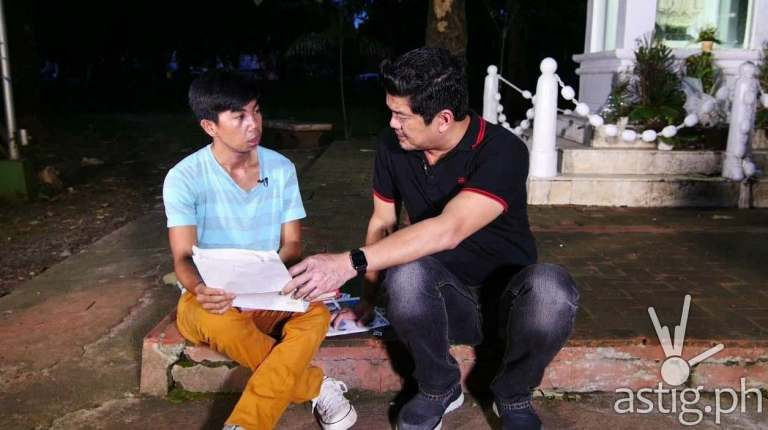 Julius Babao tries to help Ellowe Alviso move on and fix his plastic surgery gone awry in the new episode of Mission Possible