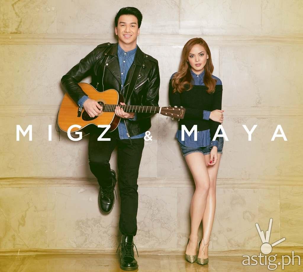 Migz and Maya CD cover