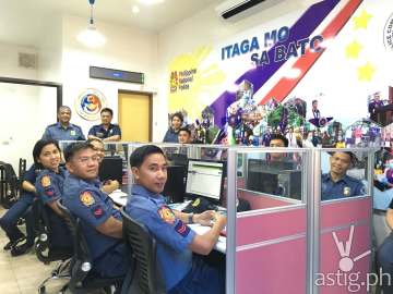 The PNP Police Quick Response Center is now operational 24/7