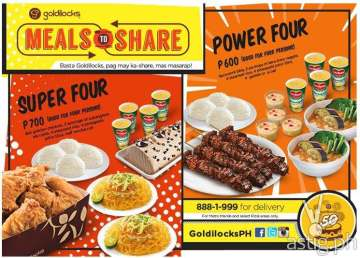 Sharing is caring: Goldilocks Meals to Share packages