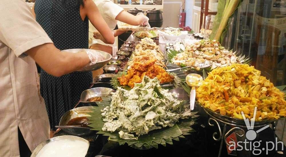 Cabalen Asian Food Lineup