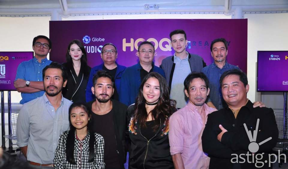 The Cast of OTJ Series with Director Erik Matti and Producer Dondon Monteverde